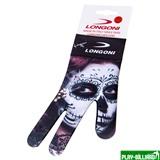 Weekend Перчатка бильярдная «Longoni Fancy Skull 1» правая, интернет-магазин товаров для бильярда Play-billiard.ru