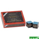 "Мел ""Brunswick"" (12 шт) синий, интернет-магазин товаров для бильярда Play-billiard.ru"