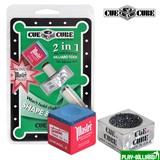 Махровка «Cue Cube» с мелом (блистер), интернет-магазин товаров для бильярда Play-billiard.ru