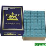 "Мел ""Triangle"" (144 шт) синий, интернет-магазин товаров для бильярда Play-billiard.ru"