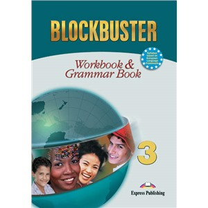 blockbuster 3  workbook - рабочая тетрадь & grammar international