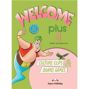 welcome plus 4 culture clips & board games