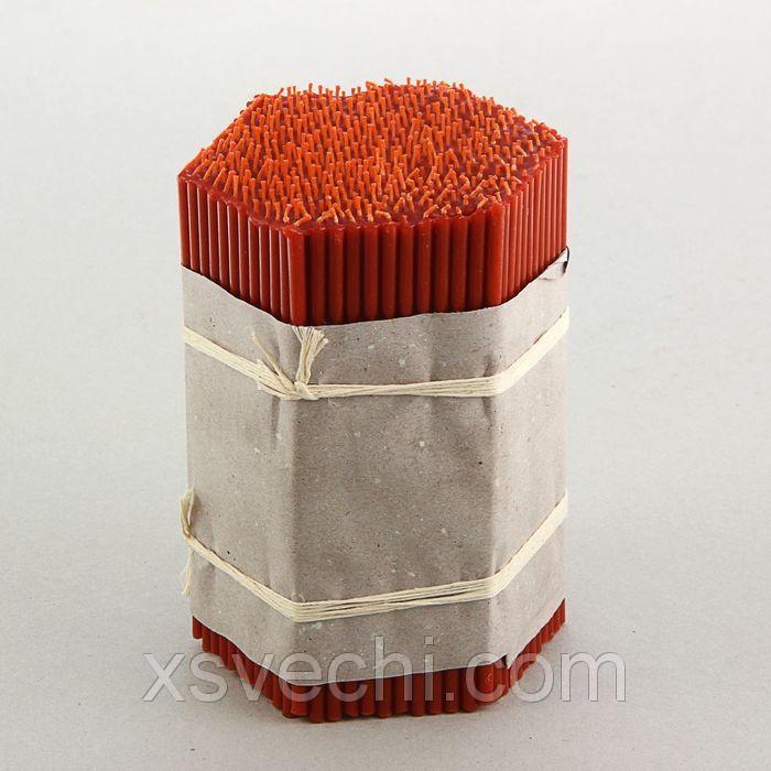 Свечи красные церковные №80 (набор 400шт.)