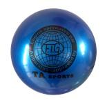 Мяч для художественной гимнастики RGB-101, 19 см, синий