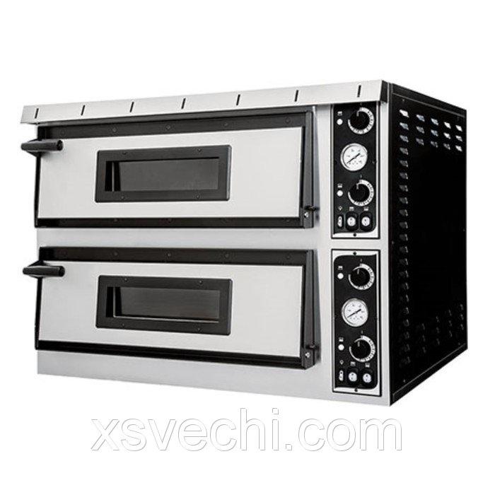 Печь для пиццы Gemlux GEP XL 66, 50-500°С, два модуля