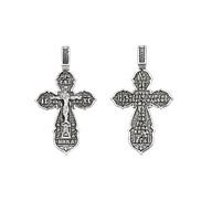 Крест серебряный  № 03185, серебро 925°