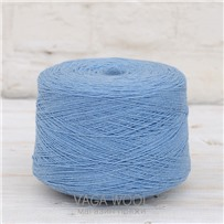 Пряжа Lambswool Голубая синица 285, 212м/50г., Knoll Yarns, Blue tit