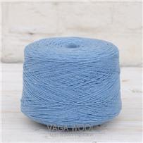 Пряжа Lambswool Голубая синица 285, 212м/50г., Knoll Yarns, Blue tit