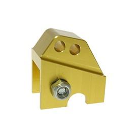 Проставка заднего амортизатора CNC [желтый] - Piaggio