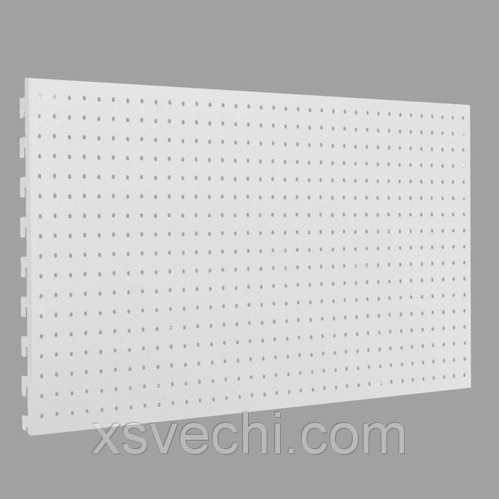 Панель стальная для стеллажа, 45*90 см, перфорированная
