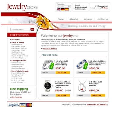 Jewelry Template