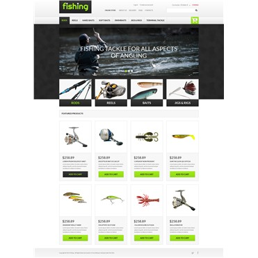 Varity of Fishing Equipment