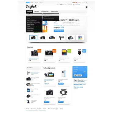 Plain Digital Store