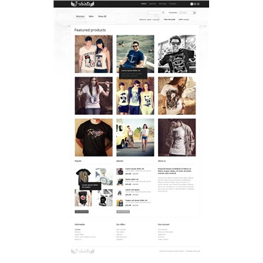 Grungy T-Shirts Online