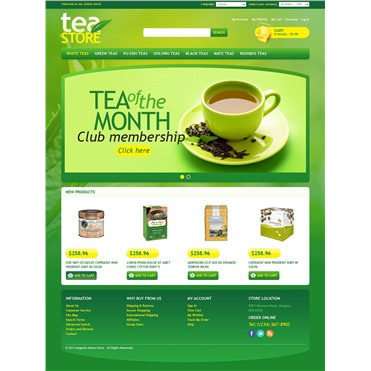 Green Tea Store