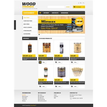 Responsive Wood Finishes Store