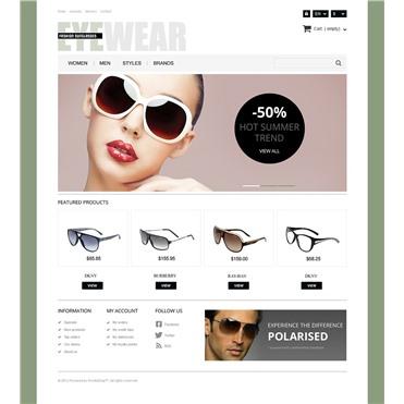 Responsive Eyewear Store