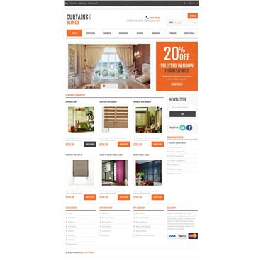 Responsive Curtains & Blinds Store