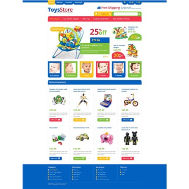 Responsive Toys Store