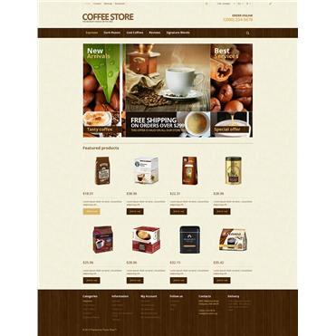 Responsive Coffee Store