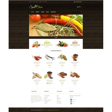 Responsive Spice Store