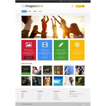 Responsive Image Store