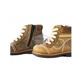 Ботинки Papsin коричневые унисекс