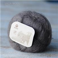 Пряжа Brushed lace Кофейный пыльный 3007, 210м/25г, Mohair by canard, Taupe