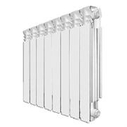 Алюминиевый радиатор теплотерм 500 высота 70 глубина