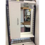 Зеркальный шкаф Панда 50 с подсветкой