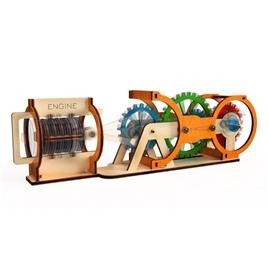 M-WOOD Конструктор 3D деревянный M-WOOD Двигатель