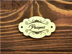 Шильдик Passport 8