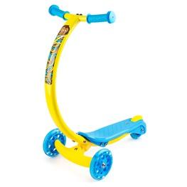 Самокат с изогнутой ручкой и светящимися колесами Zycom Zipster (Зайком Зипстер)