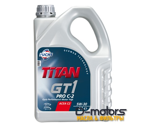 FUCHS TITAN GT1 PRO C-2 5W-30 (4л.)