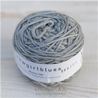 Пряжа Merino DK solid Серебряная лиса, 100м/50г., Cowgirlblues, Silver Fox