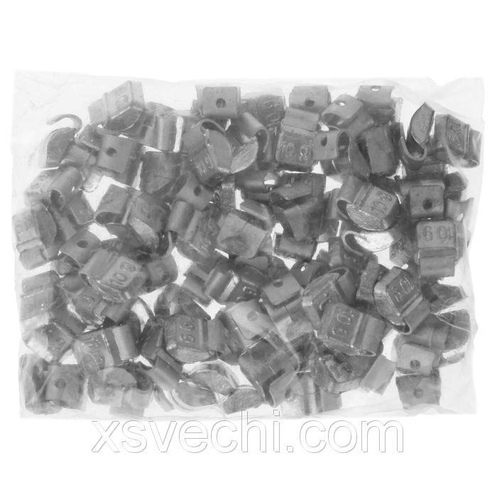 Грузики набивные свинцовые, для штамп. дисков, 10 гр., набор 100 шт.