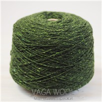 Пряжа Твид Soft Donegal Трава 5225, 95м в 50 г. Knoll Yarns, Graney
