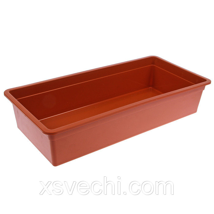 Ящик для рассады, 45 х 22 х 10 см, цвет МИКС