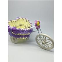 Велосипед декоративный арт.XY-2 цвет: светло-фиолетовый