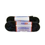 Шнурки для коньков с пропиткой W918, пара, 2,44 м, черные