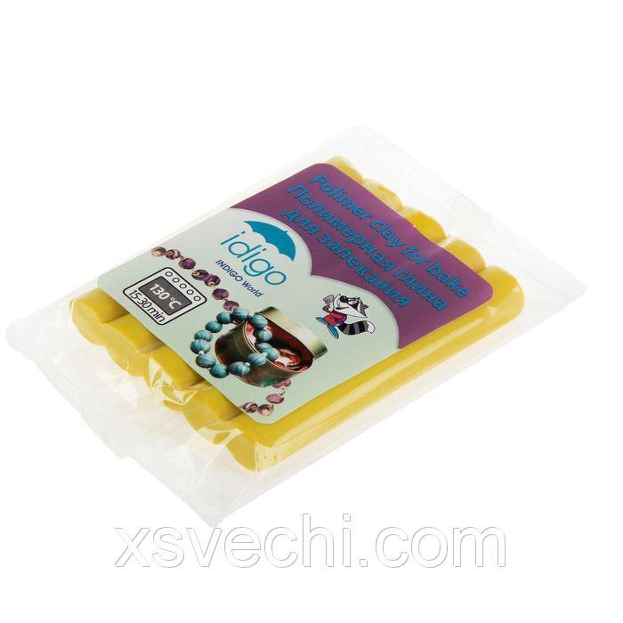 Пластика - Полимерная глина 50гр желтая