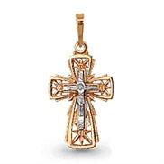 Крест золотой № 12024, золото 585°