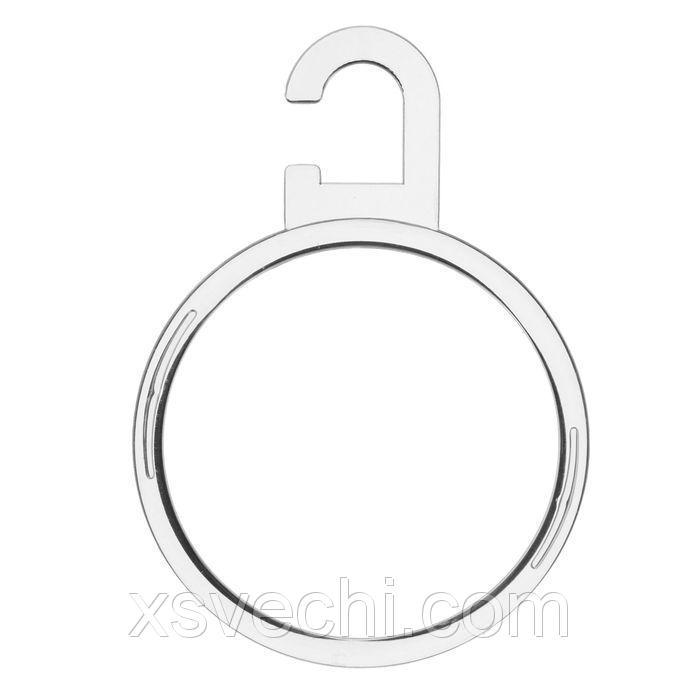 Вешалка для аксессуаров, круглая, d7, цвет прозрачный