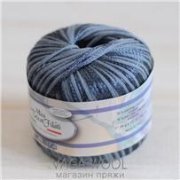 Пряжа Milleluci Color цвет Серый 26, хлопок с вискозой,  137м/50гр Miss Tricot Filati