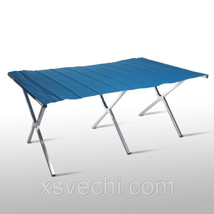 Стол для уличной торговли, складной, 200*90*70, цвет синий