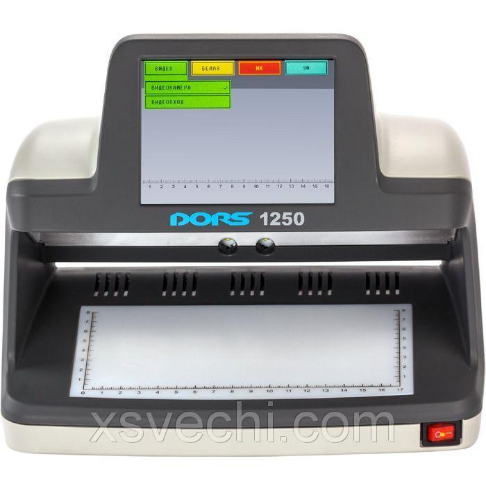 Детектор банкнот DORS 1250 универсальный просмотровый
