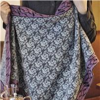 Набор для шали JARDIN размер 85х200 см. Автор Новикова Светлана