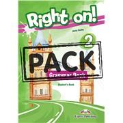 Right on! 2. Grammar Student's Book with Digibook app (international). Сборник грамматических упражнений (с ссылкой на электронное приложение)