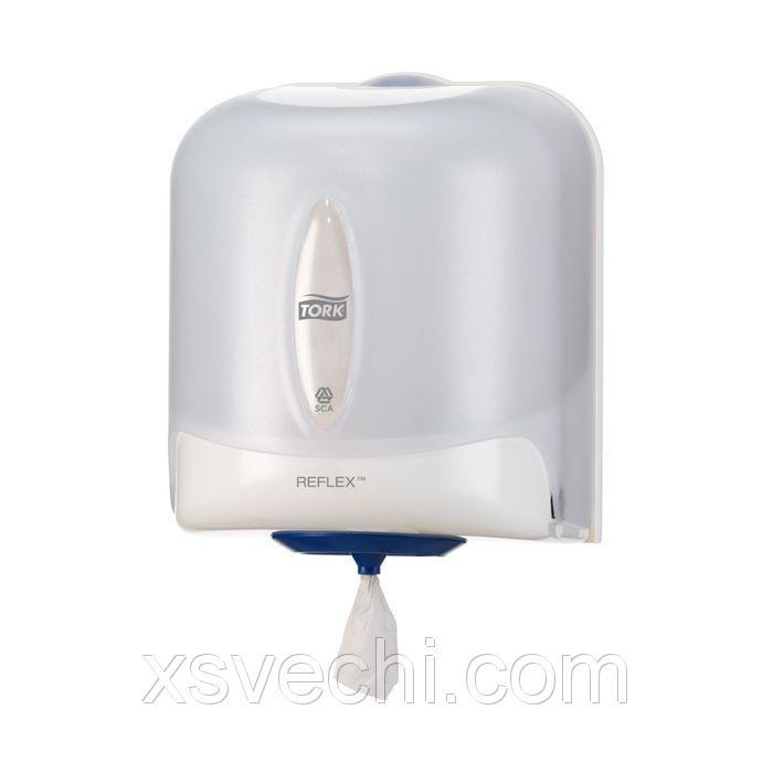 Диспенсер Tork Reflex для полотенец Reflex ЦВ (M4) белый