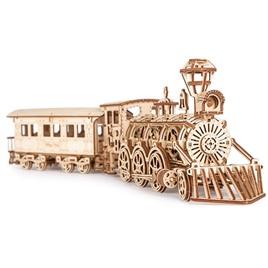 Wood Trick Механическая сборная модель Wood Trick Локомотив R17 с рельсами